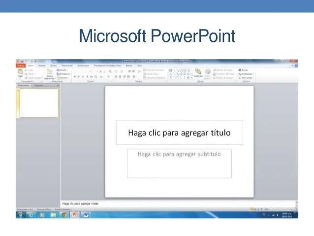 Interfaz De Usuario PowerPoint