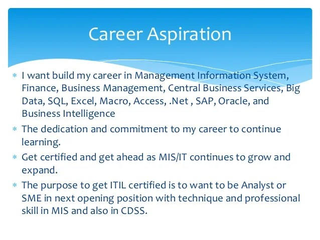 Career Information Security Management