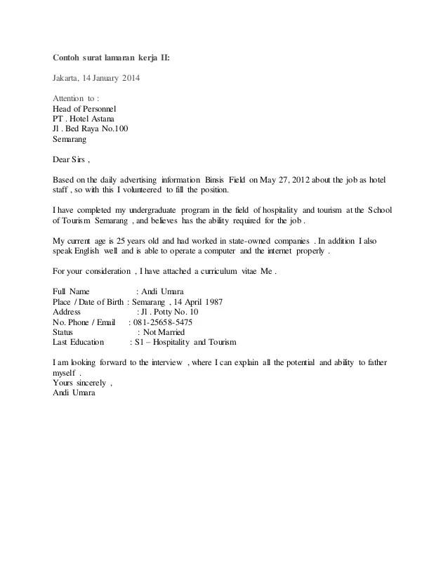 Contoh Surat Bahasa Inggris Block Style Suratsuratxyz
