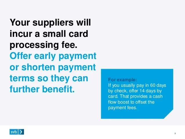 Svb credit card login cardbk 3 ways to your suppliers on credit card payments colourmoves