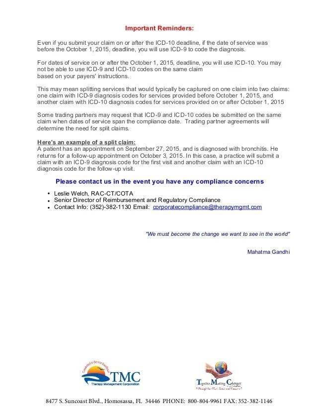 ICD-10 Transition Preparation and Preparedness 7.17.15 11.21am