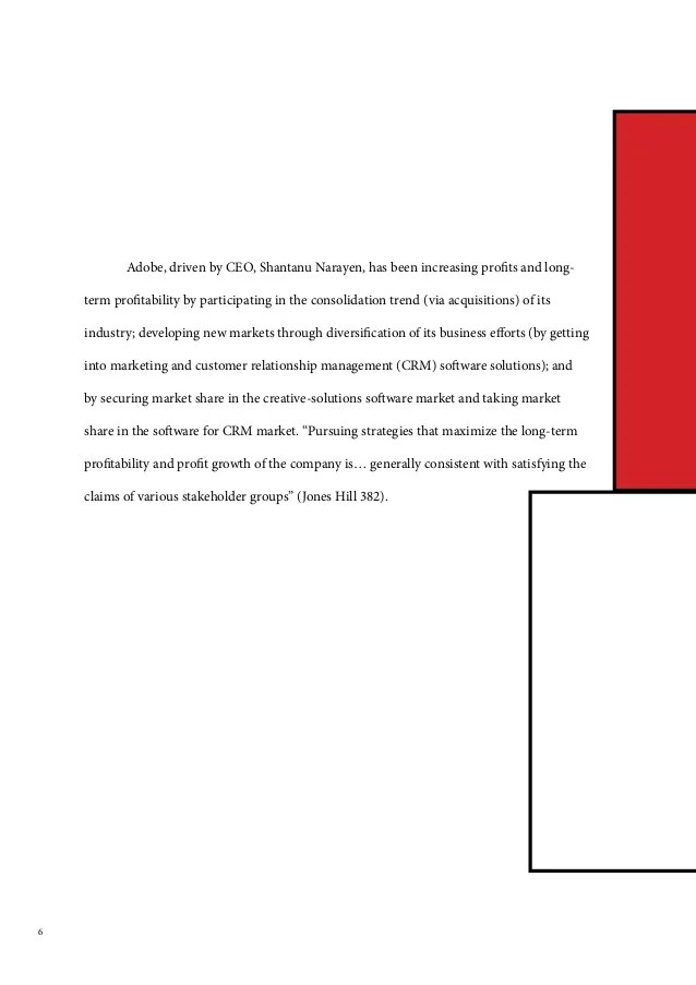 Strategic Audit: Adobe Systems Inc.