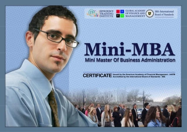Mini-MBA Business Administration
