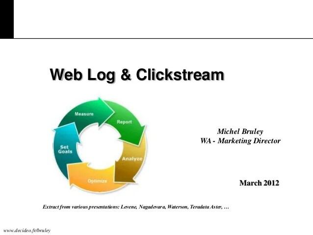 Web log & clickstream