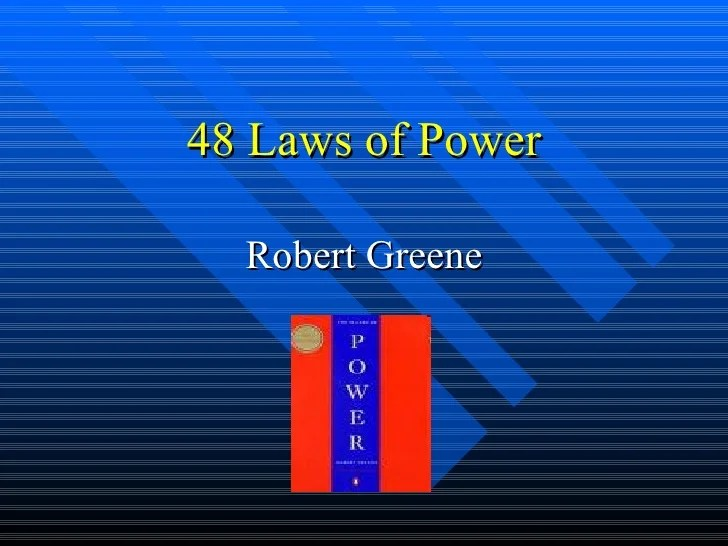 the concise 48 laws of power pdf