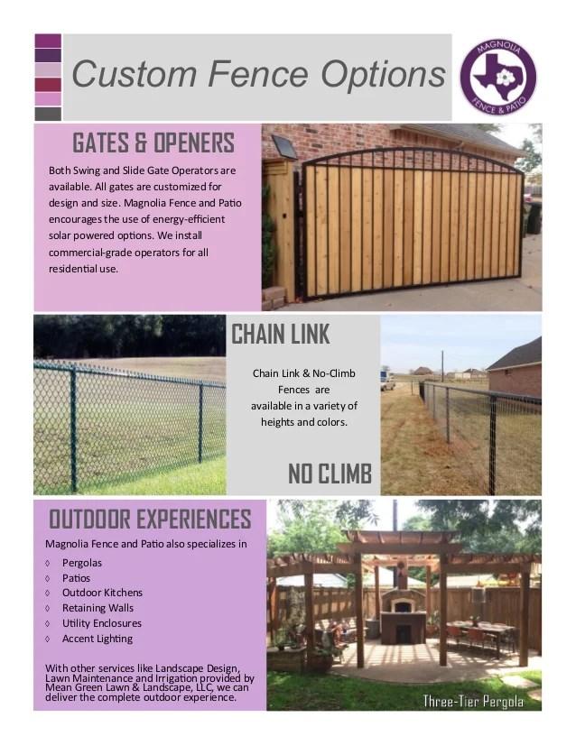 magnolia wood fence info 2015 02 09