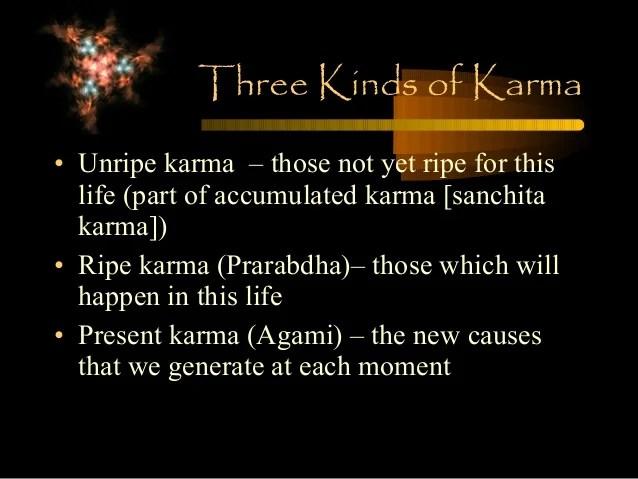 karma [sanchita karma])