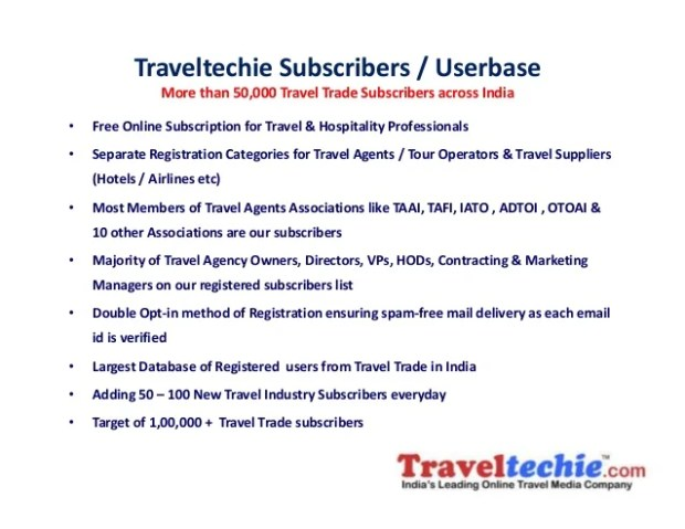 Travel Agents Email List India | Viewsummer co