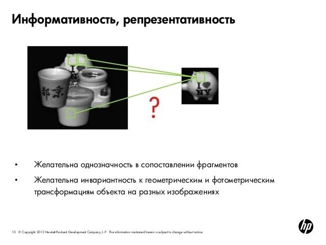 Анализ изображений и видео. Построение признаков и ...