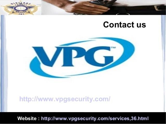 Event Security Officer Duties