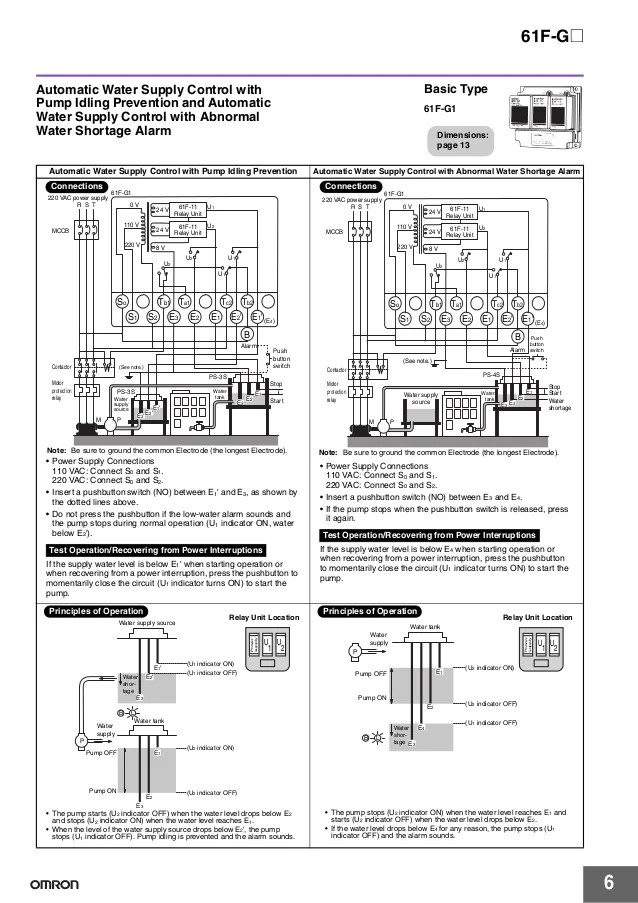 [DIAGRAM] Wiring Diagram Omron 61f G1 Ap FULL Version HD