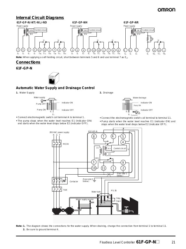 61 ffloatlesslevelcontrollerdatasheet