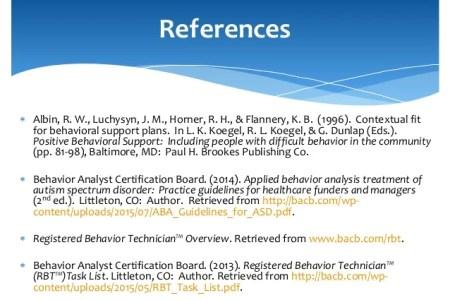 Registered Behavior Technician Behavior Therapy t Aba