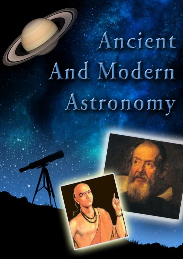 "Report on ""ANCIENT & MODERN ASTRONOMY"""