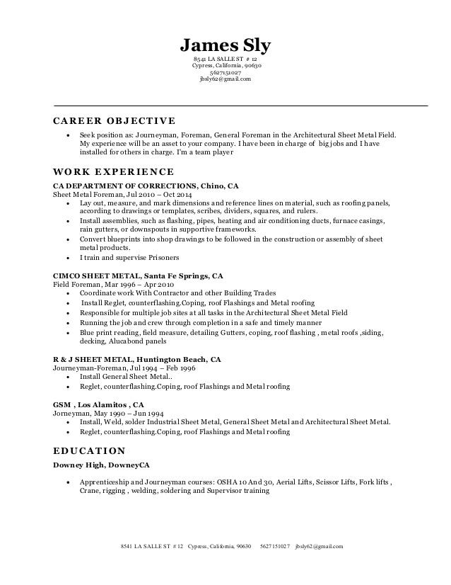 My New Resume classic