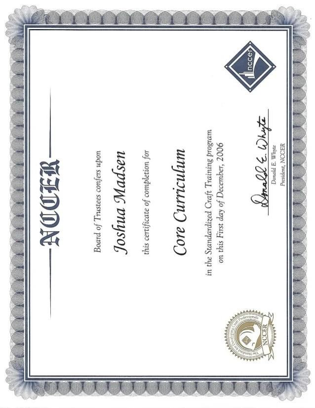 Nccer Certification Card Mamiihondenk