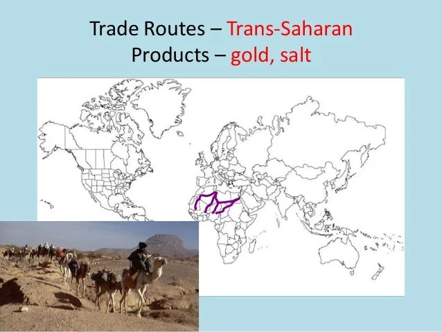 Salt Trade Route Africa