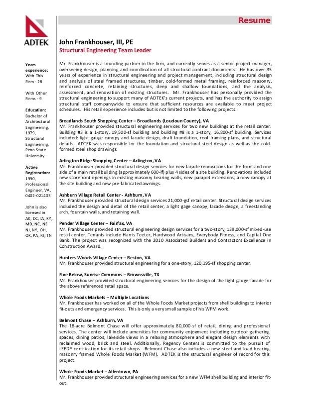 ADTEK Engineers Profile Retail Experience And Resumes