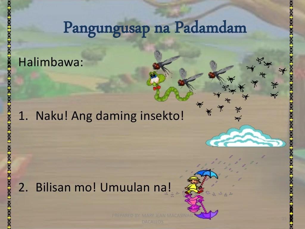 Uri Ng Pangungusap Ayon Sa Gamit Filipino Grade 4