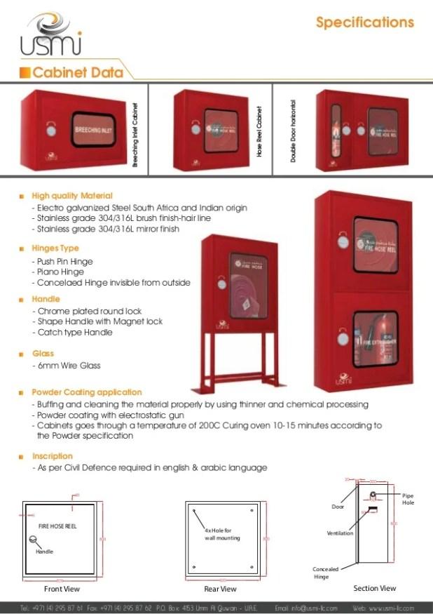 Fire Hose Reel Cabinet Standard Size Www Stkittsvilla Com