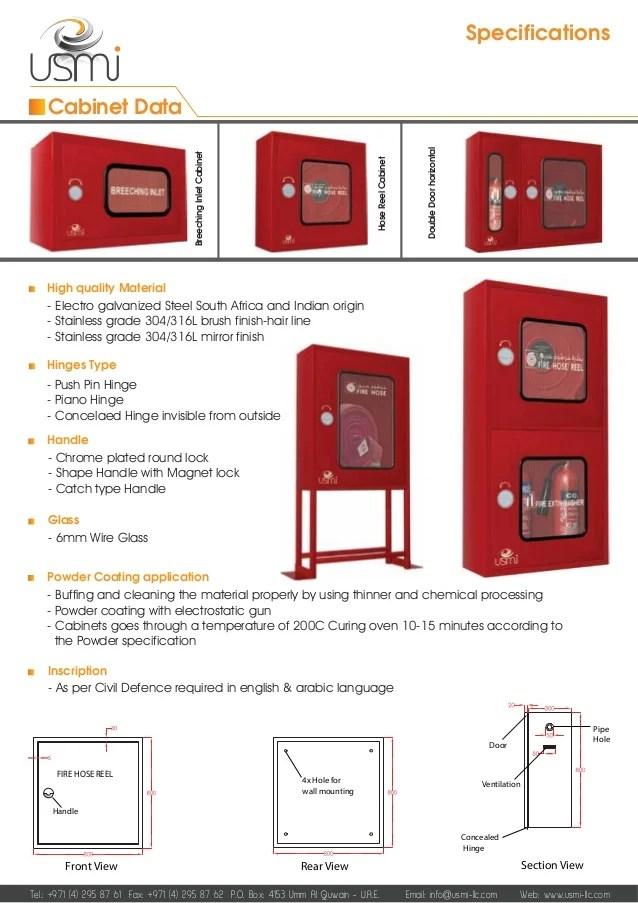 Standard Fire Hose Reel Cabinet Dimensions Www  sc 1 st  Cintronbeveragegroup & Standard Fire Hose Reel Cabinet Dimensions   www ...