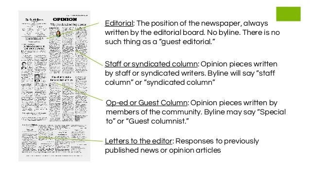 Share Your Story with Guest Opinion Columns