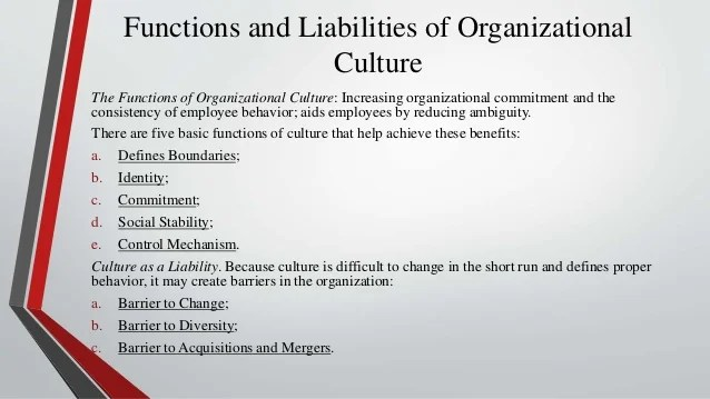 Organizational culture and its influence on project management