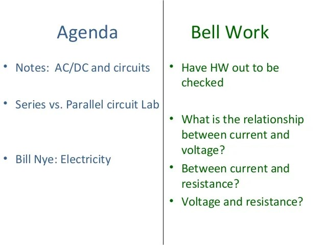 Ac Dc And Circuits