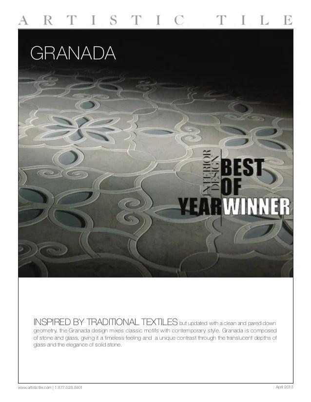 artistic tile granada brochure