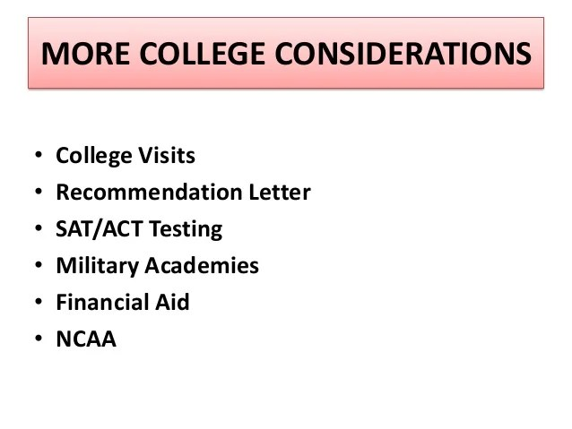 Academic Letter Recommendation Military