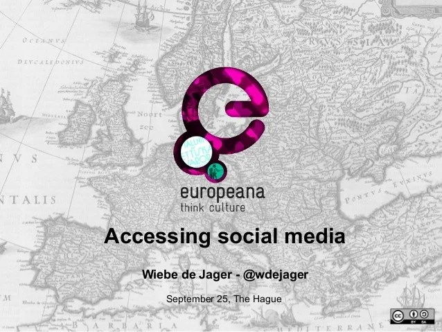 Accessing Social Media (Projects Group Assembly, 25-9-2014)