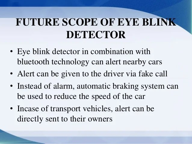 Accident prevention using bluetooth tech and eye blink sensor