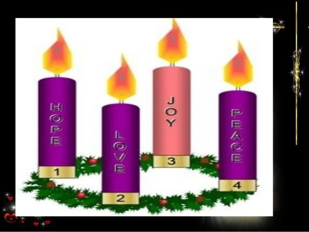 Advent Candles Sheet Coloring