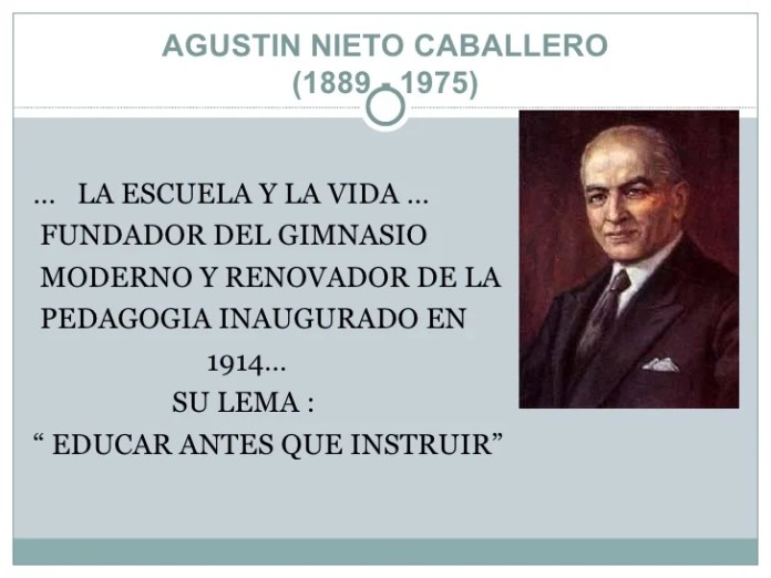 Resultado de imagen para Fotos de Agustín Nieto Caballero