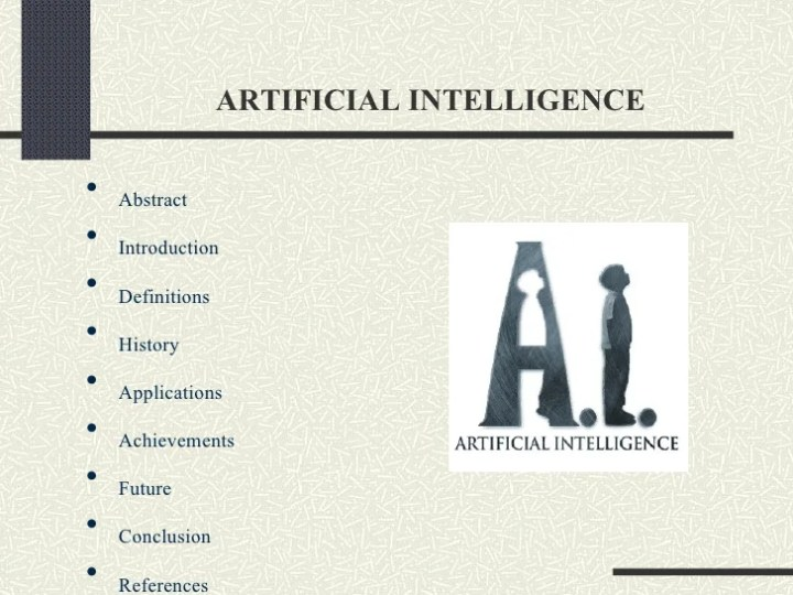 artificial intelligence essays The concept of artificial intelligence has been on the horizon for quite some time now  kindly order custom made essays, term papers, research papers, thesis.