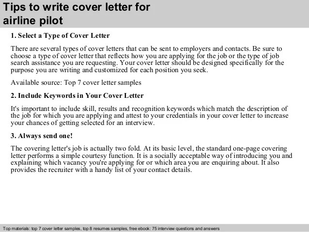 Sample Aircraft Pilot Cover Letter Andrian James Blog