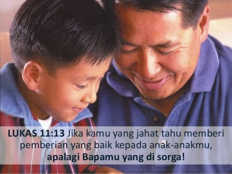 Hasil gambar untuk Lukas 11:13