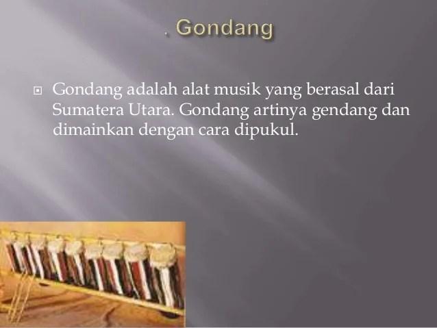 Alat Musik Sumatera Utara By Cokorda Dan Gilbert