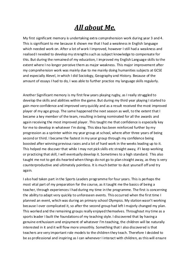 Literary Analysis Essay Example How To Write Essay About Myself Ubuhle Bemvelo Lord Of The Flies Jack Essay also How To Write An Argumentative Essay Outline How To Write An Essay About Yourself  Textpoemsorg Reading Comprehension Essay