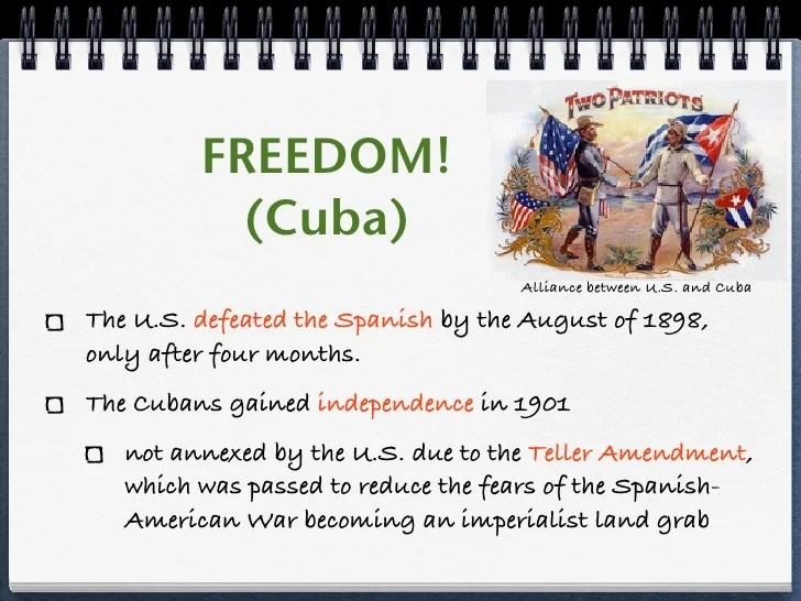 The diagram can help you remember the different regions and which states are in them. Why Did The Us Intervene In Cuba Quizlet Hno At