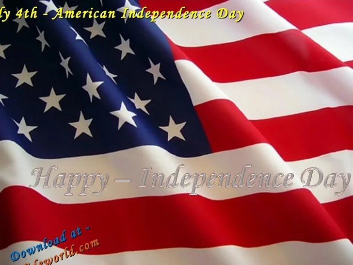 American Independence Day PPT(Powerpoint) Presentation on ...