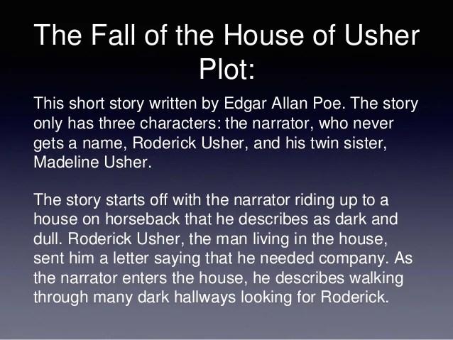 Fall House Usher Summary