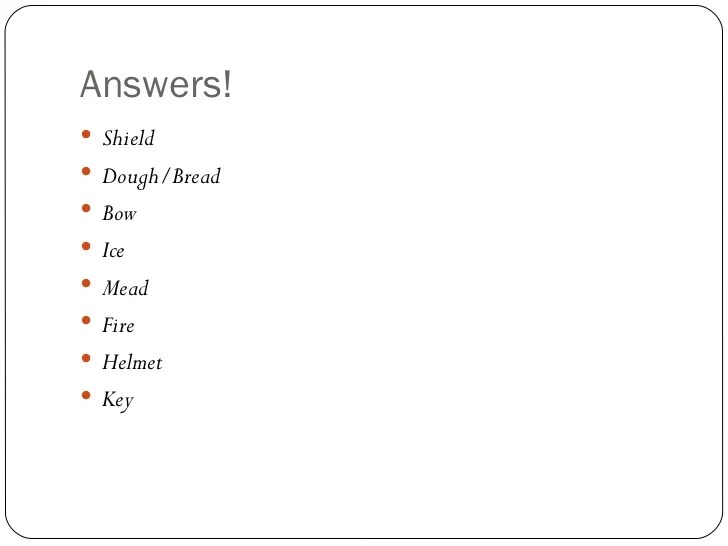 Anglo Saxon Riddles Style Caesure