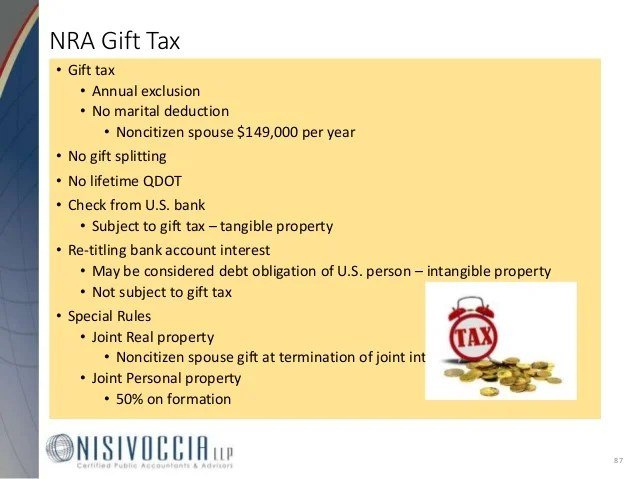 Lifetime Gift Tax Exemption – Best Life 2017