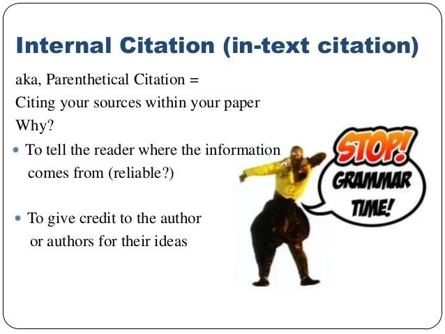 Apa Author Internal Citation One