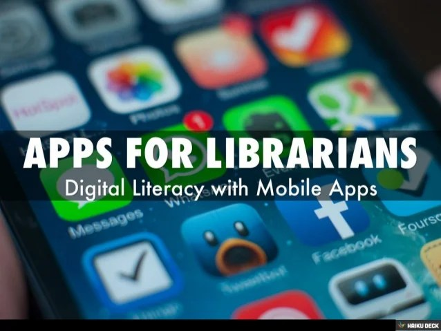 Apps for Librarians & Educators
