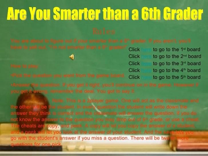 Question Are You Smarter Fifth Grader Math Pemdas Useing