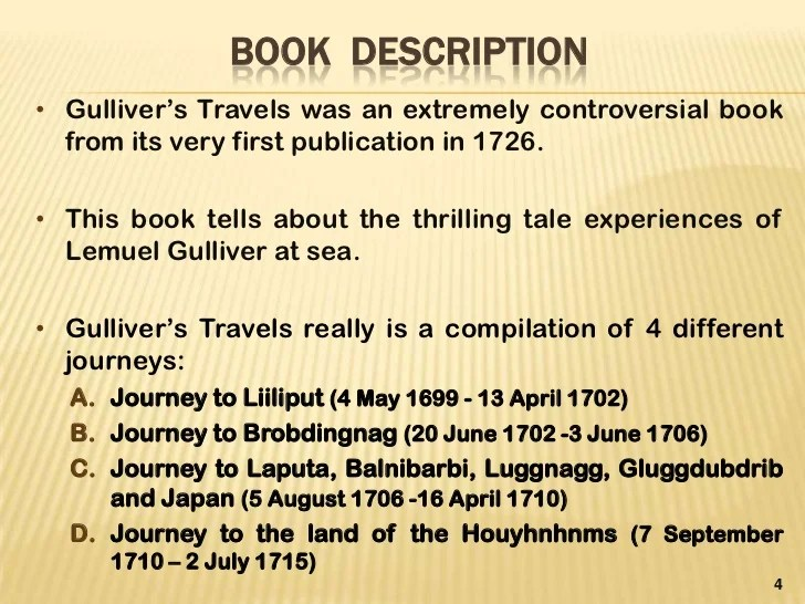 8dd42003a66 An analysis of part iv of gulliver's travels reveals that it is essentially  tragic, containing