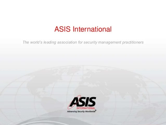 International Security Manager