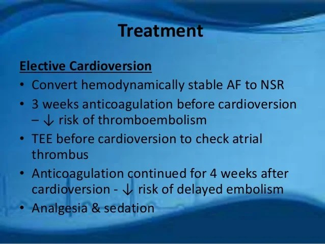 Treatment Afib Ablation